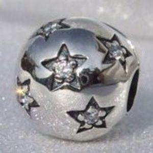 Pandora Twinkle Twinkle Star CZ Clip Charm
